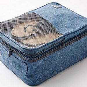 LTZ934 - Túi đựng giày-hiệu Travel Zone - Màu xanh đậm