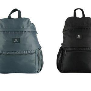 LTZ861 - Ba lô du lịch gấp gọn Foldable backpack -hiệu Travel Zone - Màu đen/xám